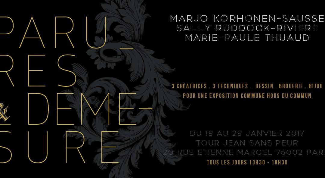 Exposition PARURES & DÉMESURE