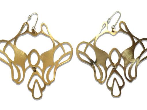 Boucles d'oreilles arabesques